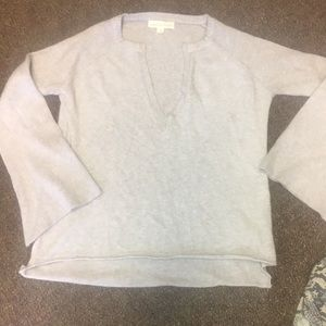 Brand new love stitch v neck sweater